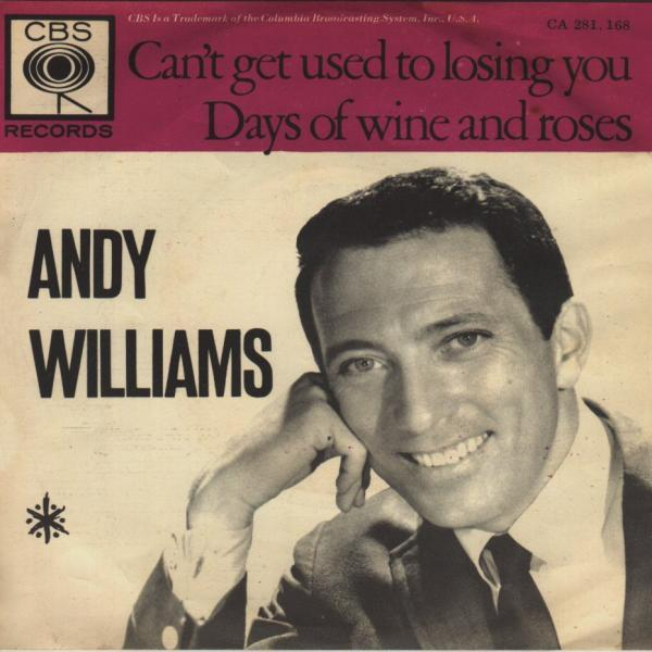 Can't Get Used to Losing You – Andy Williams