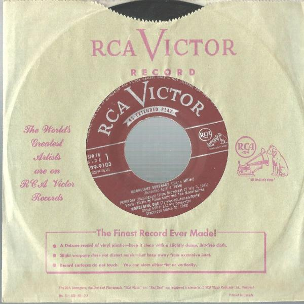 Moonlight Serenade – Glenn Miller Orchestra