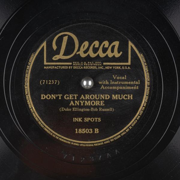 Don't Get Around Much Anymore - Duke Ellington