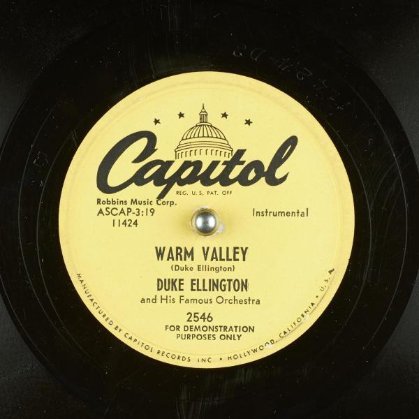 Duke Ellington - Warm Valley
