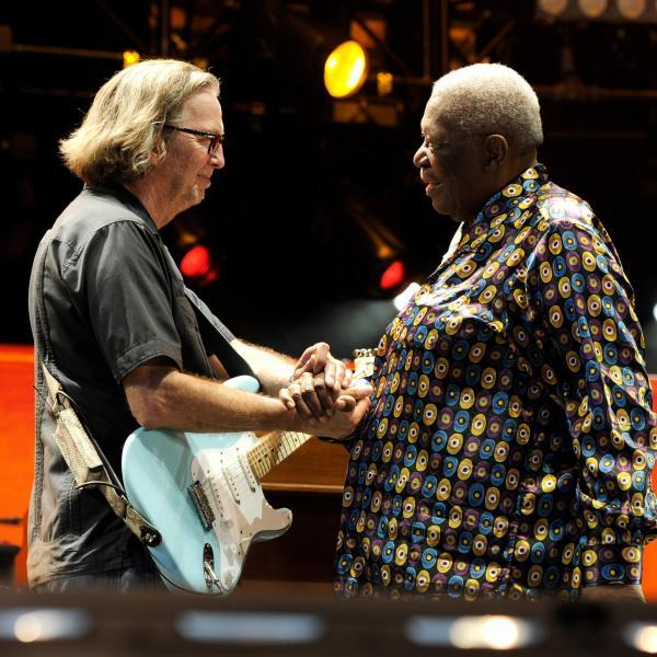 Eric Clapton and BB King
