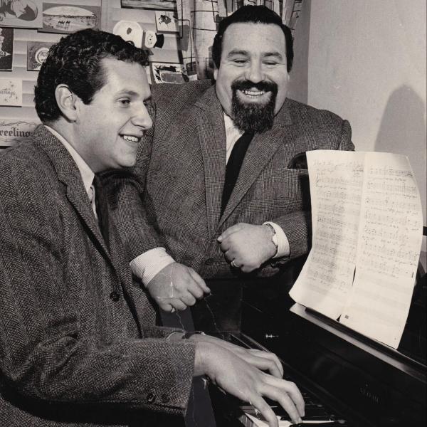 Mort Shuman and Doc Domus