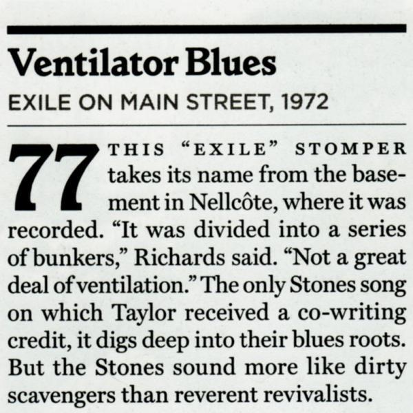 Ventilator Blues – The Rolling Stones
