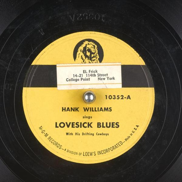Lovesick Blues – Hank Williams