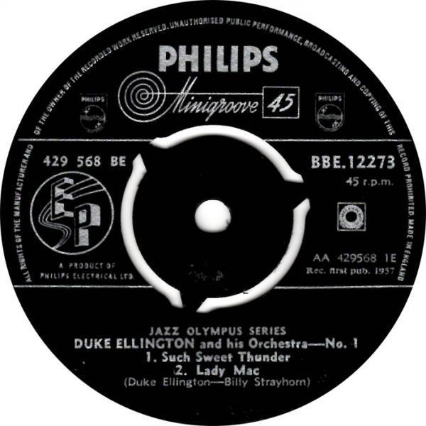 Duke Ellington - Such Sweet Thuder - Lady Mac