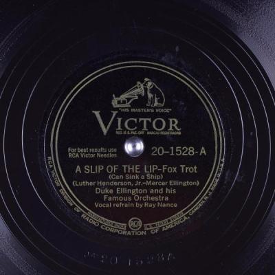 A Slip of the Lip - Duke Ellington