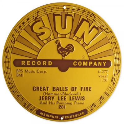 Great Balls of Fire – Jerry Lee Lewis