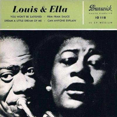 Louis Armstrong and Ella Fitzgerald)
